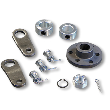 Steering Shaft Hardware Kit with Pitman Arms, Part No. 1873