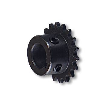 """B"" Type Engine Sprocket, Steel, #219 Chain, 3/4"" Bore, 3/16"" Keyway, Two 5/16-18 Set Screws, 18 Tooth, part no. 1958"