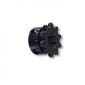 """B"" Type Engine Sprocket, Steel, #35 CHAIN, 5/8"" BORE, 3/16"" INTEGRAL KEY, 5/16-18 SET SCREW, 10 TOOTH, part no. 2124-K"