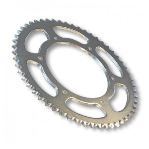 "Steel Sprocket, 40 tooth, #40/#41 (#420) Chain, 4.563"" Bore, 6 Holes @ .3125"", 5.25"" Bolt Circle, Bolt Pattern P5245 part no. 2166-60"