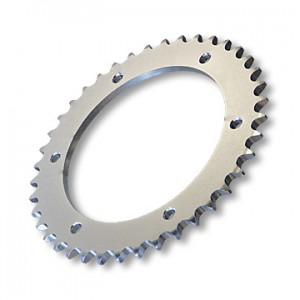 "Steel Sprocket, #40/41(#420) CHAIN, 4.563"" BORE, 6 HOLES, 5.25"" BOLT CIRCLE, (P5245) 40 TOOTH, part no. 2166-40"