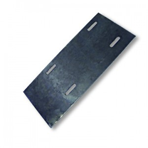 "Engine Mounting Plate, 5"" x 12"", Flat, heavy, part no. 8199"