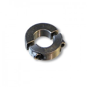 "Steel Split Locking Collar, 3/4"" ID x 1-3/4"" OD x 1/2"" width, 1/4"" Keyway, part no. 8551"