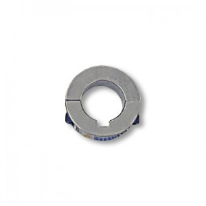 Split Locking Collar, Billet Aluminum, 25mm ID x 44mm OD x 12mm, part no. 8572