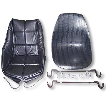 Bucket Seat Kit, Complete, wit Cover, Part No. 2291