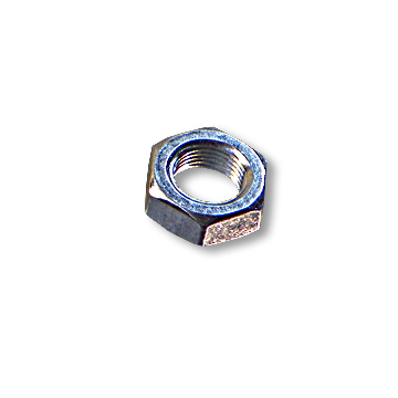 HEX NUT, 5/8-18, RIGHT THREAD, ZINC PLATED, part no. 8524