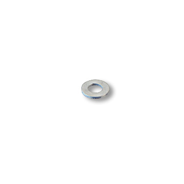 "FLAT WASHER, 1/4"" ID X 5/8"" OD, ZINC PLATED, part no. 8353"