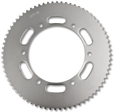 Part No. 2171-72, Steel Sprocket for #35 Chain, 72 Tooth