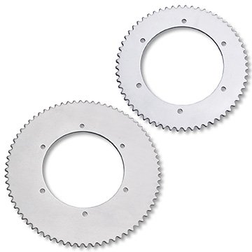 Part Nos. 2150 & 2154: Economy Steel Sprockets for #35 Chain, 60 or 72 tooth, P5245 Bolt Pattern