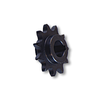 "Part No. 2198, ""C"" Type Engine Sprocket, Steel, #40/41 Chain, 5/8"" Bore, 3/16"" Keyway, No Set Screw, 11 tooth"