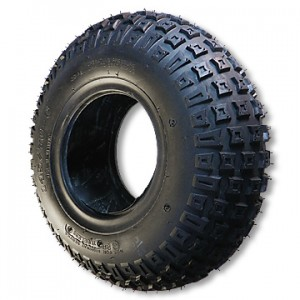 """145-70 x 6 Knobby ATV Tire, 2 ply, 6.0"""" wide, 14.2"""" OD, part no. 1222"""