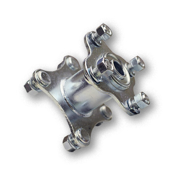 """Part No. 2277, Hub for 5"""" & 6"""" Steel Wheels, 5/8"""" Standard Ball Bearing With Flange"""