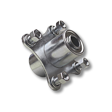 "Part No. 2477, Hub for 5"" & 6"" Steel Wheels, 5/8"" Standard Ball Bearing"