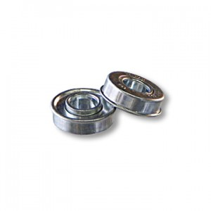 "more infomore info STANDARD BALL BEARING WITH FLANGE, 5/8"" ID X 1-3/8"" OD X 5/16"" THICK, part no. 8204"