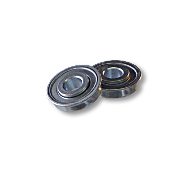 "STANDARD BALL BEARING WITH FLANGE, 1/2"" ID X 1-3/8"" OD X 5/16"" THICK, part no. 8222"