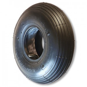 Ribbed Tire, Round Profile