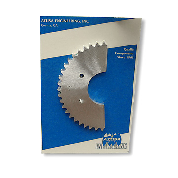 "Aluimnum Mini Sprocket, 4 Bolt, Tuf-N-Tru (TNT), .160"" thick for #35 Chain, part no. 2084"
