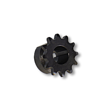 """B"" Type Engine Sprocket, Steel, #219 CHAIN FOR YAMAHA, 10° TAPERED BORE, 3/16"" KEYWAY, NO SET SCREW, 12 TOOTH, part no. 1942"