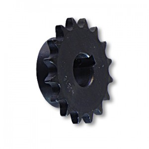 """B"" Type Engine Sprocket, STeel, Honda & 22mm Shafts, 22mm Bore, 7mm Keyway, 16  Tooth, part no. 2176"