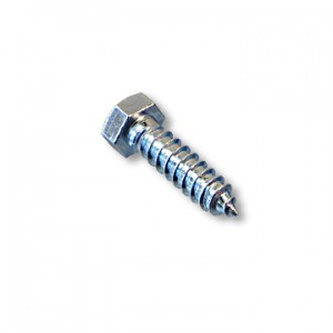 "Anchor Bolt, Hex Head, 1/2"" x 2"", Part No. 8462"