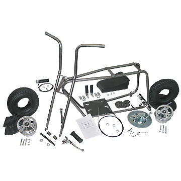 "Mini-Bike Kit with 5"" Aluminum Wheels, Part No. 3540"