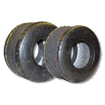 "Part Nos. 7088 & 7089 Rain Tires for 5"" Wheel"