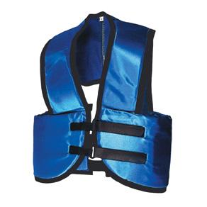 Part No. 1550, Azusa Vest, Blue, Front