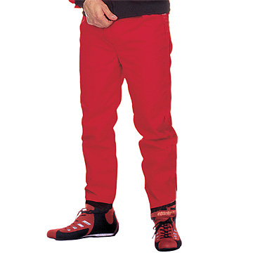Part No. 1681, Azusa Classic Racing Pants, Nylon 420, Red