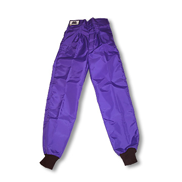 Part No. 1682, Azusa Classic Racing Pants, Child, Nylon 420, Purple