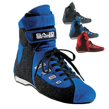 Part No. 1693, Daytona Kart Boot, Red, Blue, Black