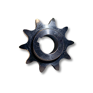 "Part No. 1990, ""C"" Type Engine Sprocket for #50 Chain, 3/4"" Bore, 3/16"" Keyway, 10 Tooth"