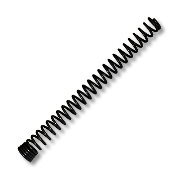 "Part No. 2382, Control Spring, .350 OD x 1/4"" ID x 4"" Length for 7/32"" Conduit"