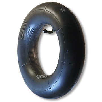 Part No. 7155, Inner Tube, 120/70 x 12, Bent Stem (Outward)
